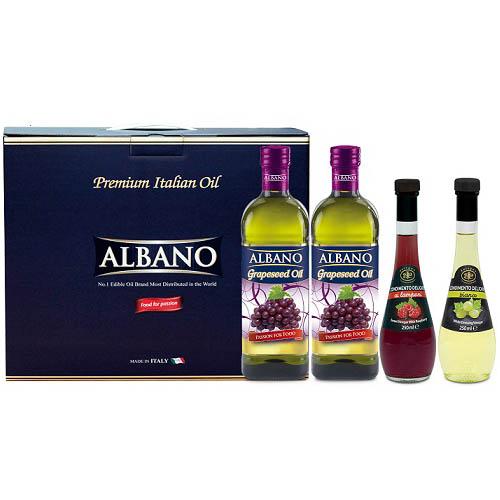 알바노 포1000 + 포1000 + 안티쿠아 과일식초2종 (4P)