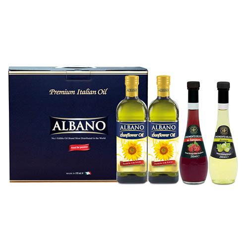 알바노 해500 + 해500 + 과일식초2종 (미니4P)