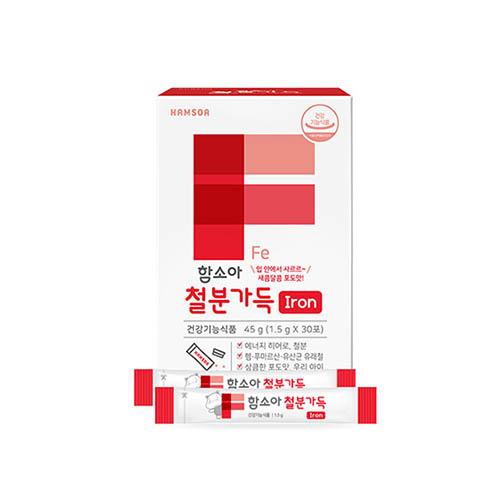 함소아 철분가득 1.5g x 30포
