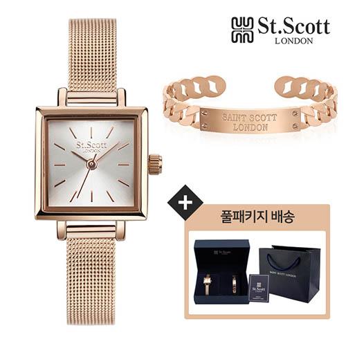 세인트스코트 여성시계 ST5032 MRRG-SET