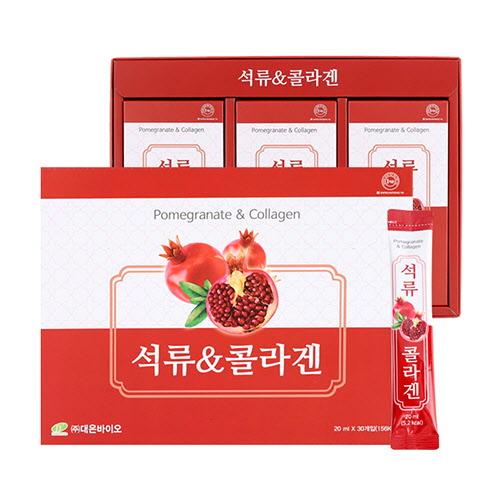 [고이담은] 석류&콜라겐 스틱 [20ml X 30스틱] / 쇼핑백 포함