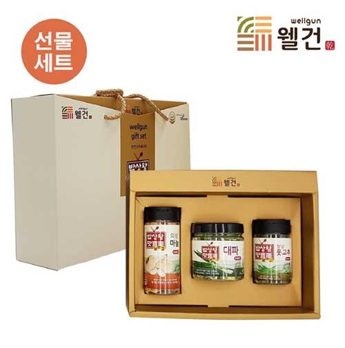 [밥상왕맛보고] 천연조미료3종 선물세트