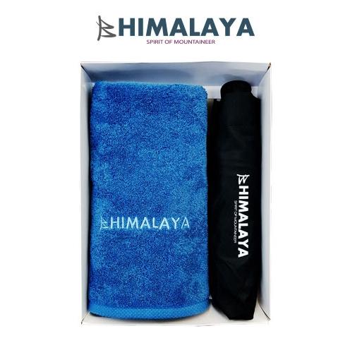 히말라야 타올(140g) 1p+히말라야 3단 완전자동우산/쇼핑백포함