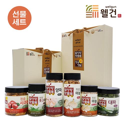 [밥상왕맛보고] 천연조미료6종 선물세트