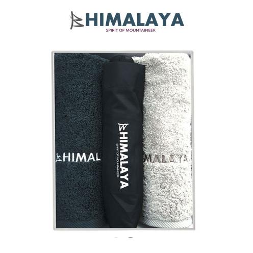 히말라야 타올(180g) 2p +히말라야 3단 완전자동우산/쇼핑백포함