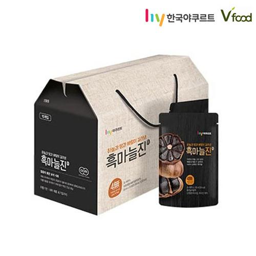 [한국야쿠르트] 흑마늘진 선물세트(15개입)