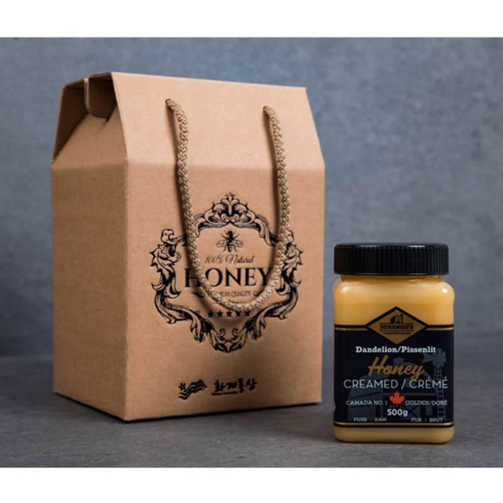 캐나다 민들레 크림 꿀 500g/천연꿀