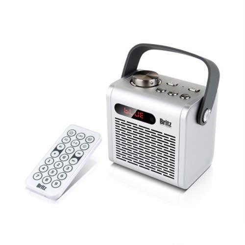 브리츠 BZ-D70 METALCube 휴대용 블루투스 스피커 라디오