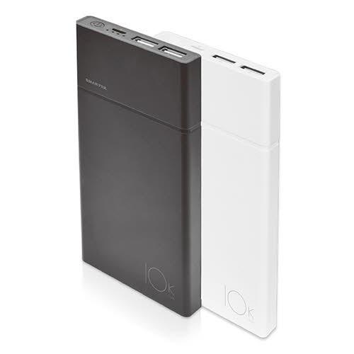 스마텍 USB 2포트 10000mAh 대용량 보조배터리 SL-10000