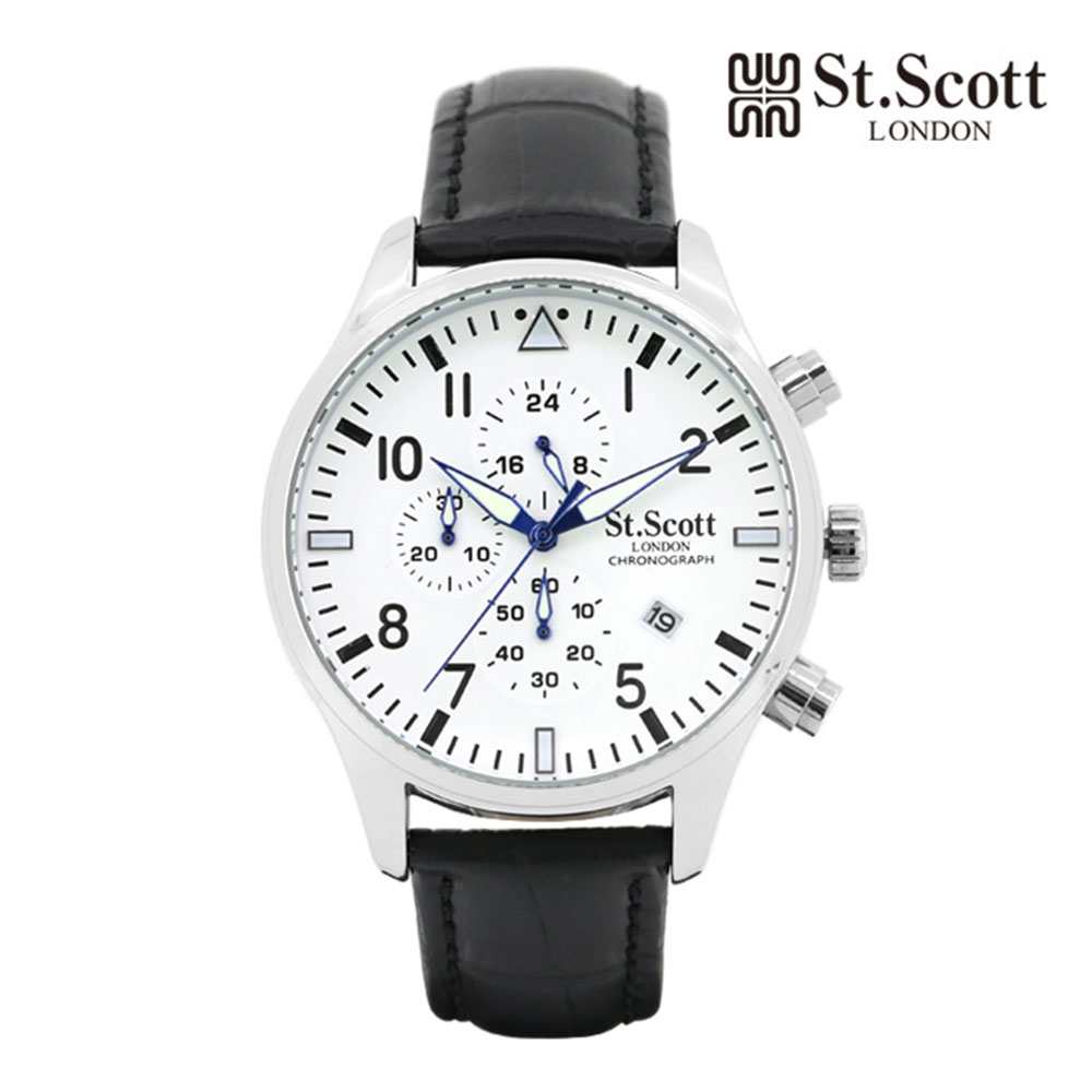 [St.Soott]세인트스코트 남성시계 ST3052L-SSB