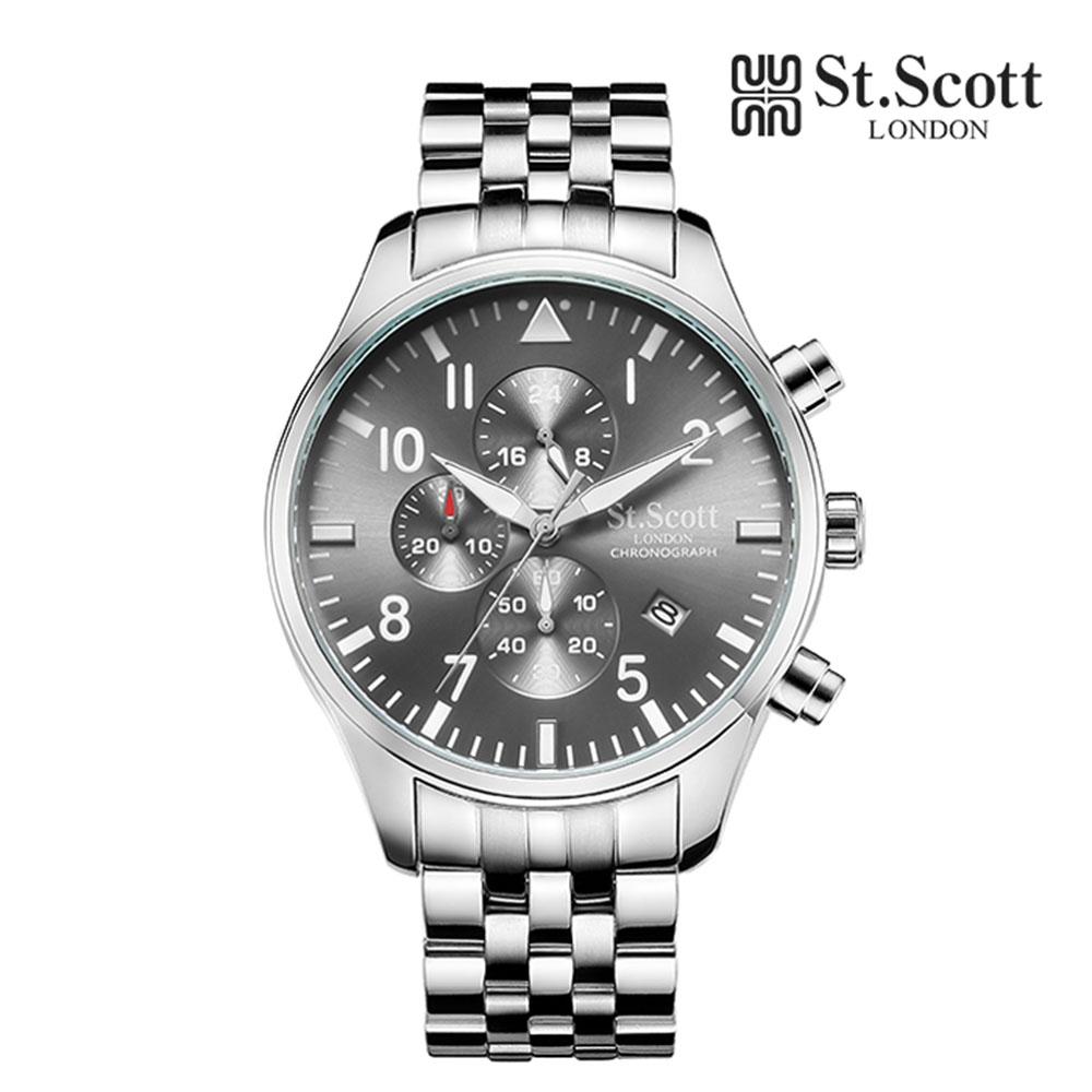 [St.Soott]세인트스코트 남성시계 ST3052SGS