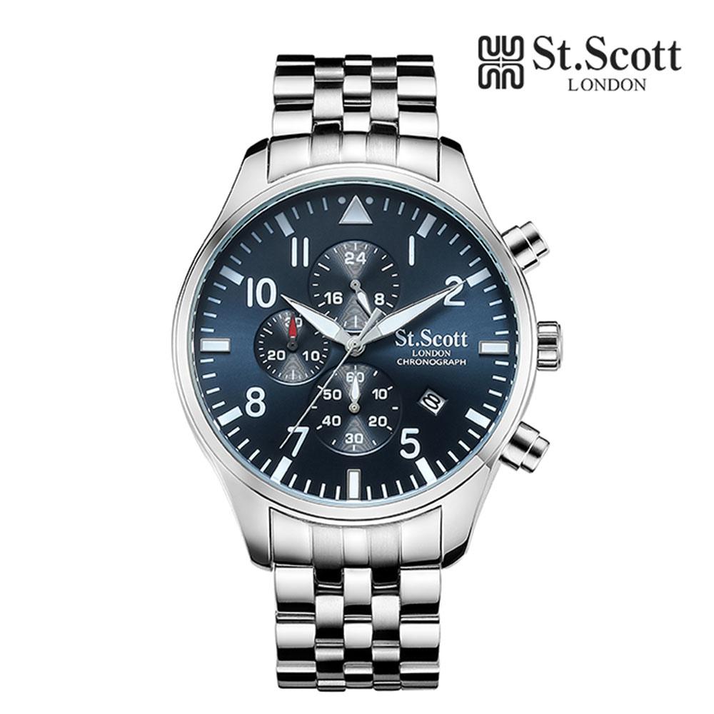 [St.Soott]세인트스코트 남성시계 ST3052SLS