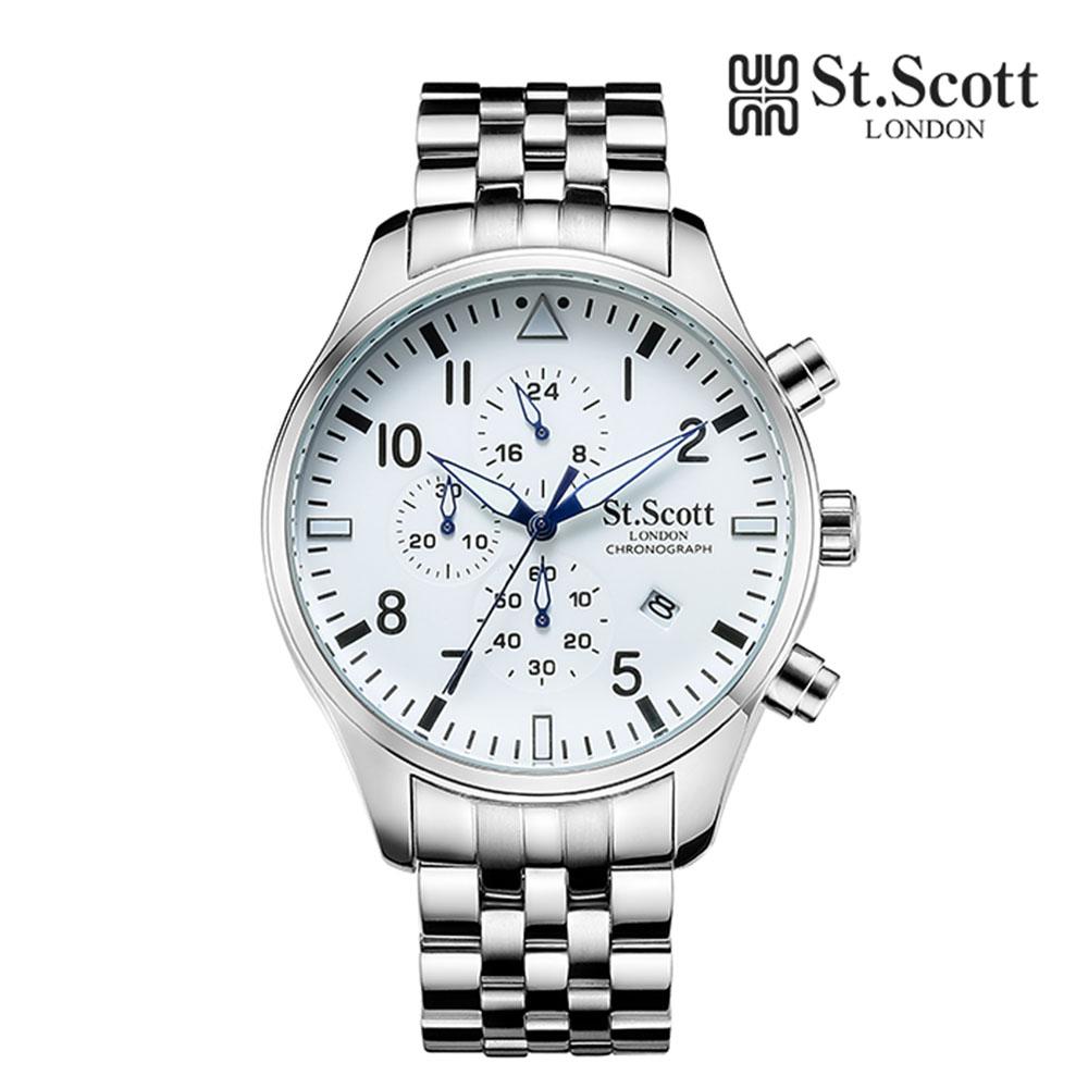 [St.Soott]세인트스코트 남성시계 ST3052SSS