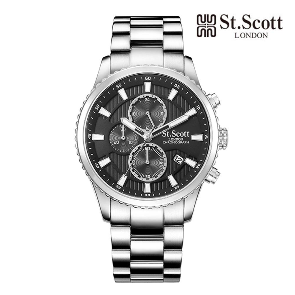 [St.Soott]세인트스코트 남성시계 ST3053SBS