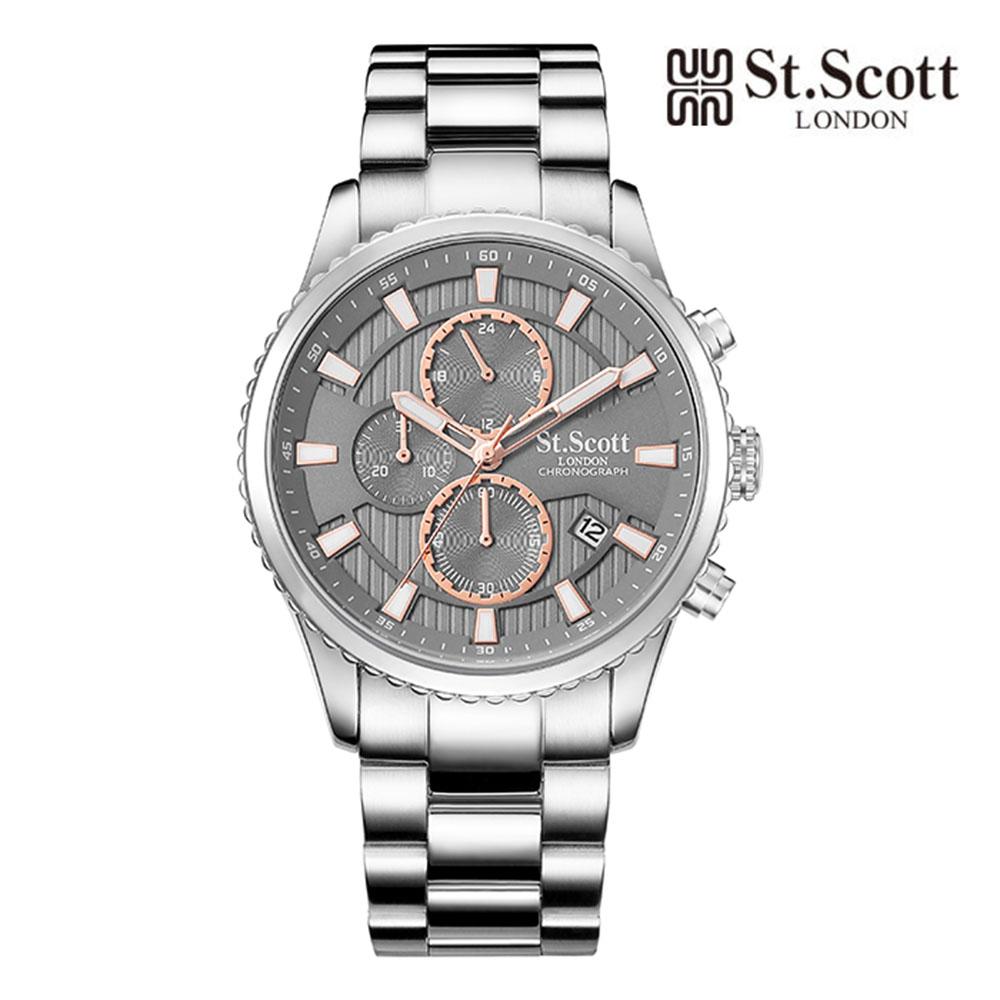 [St.Soott]세인트스코트 남성시계 ST3053SGS