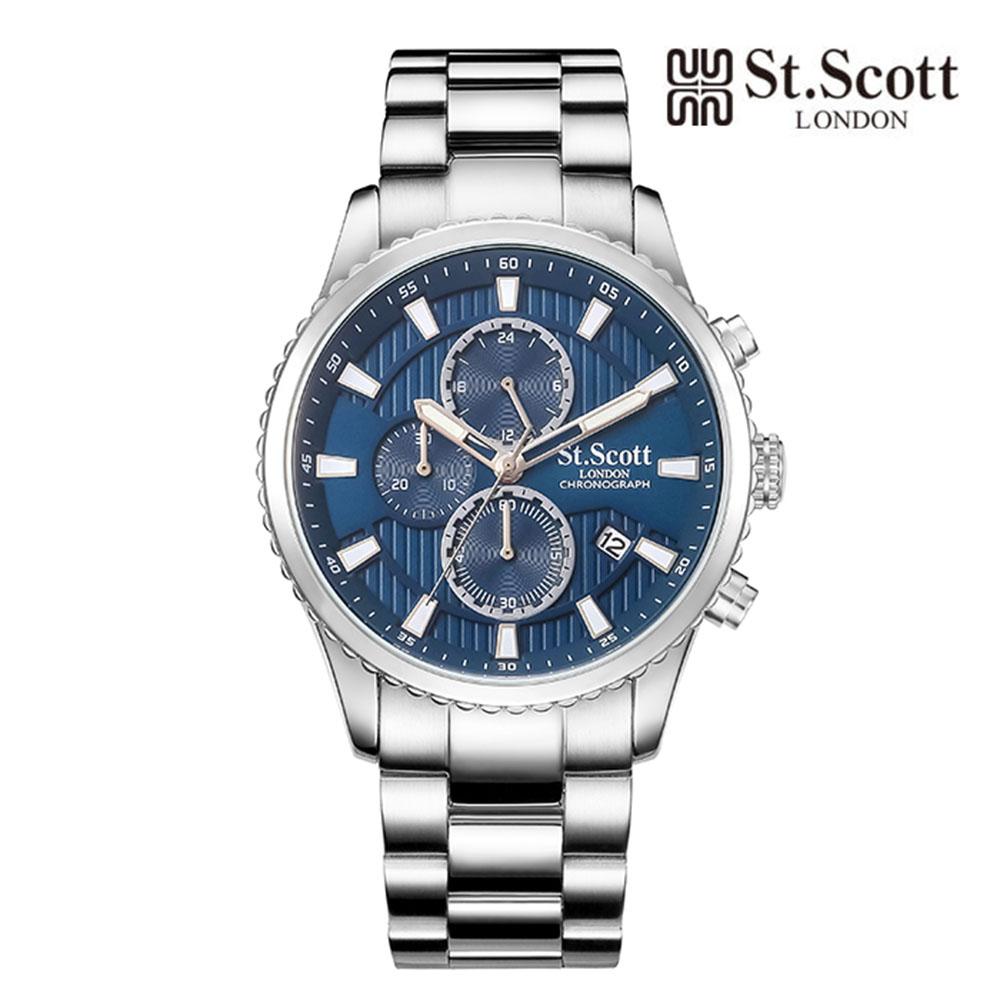 [St.Soott]세인트스코트 남성시계 ST3053SLS