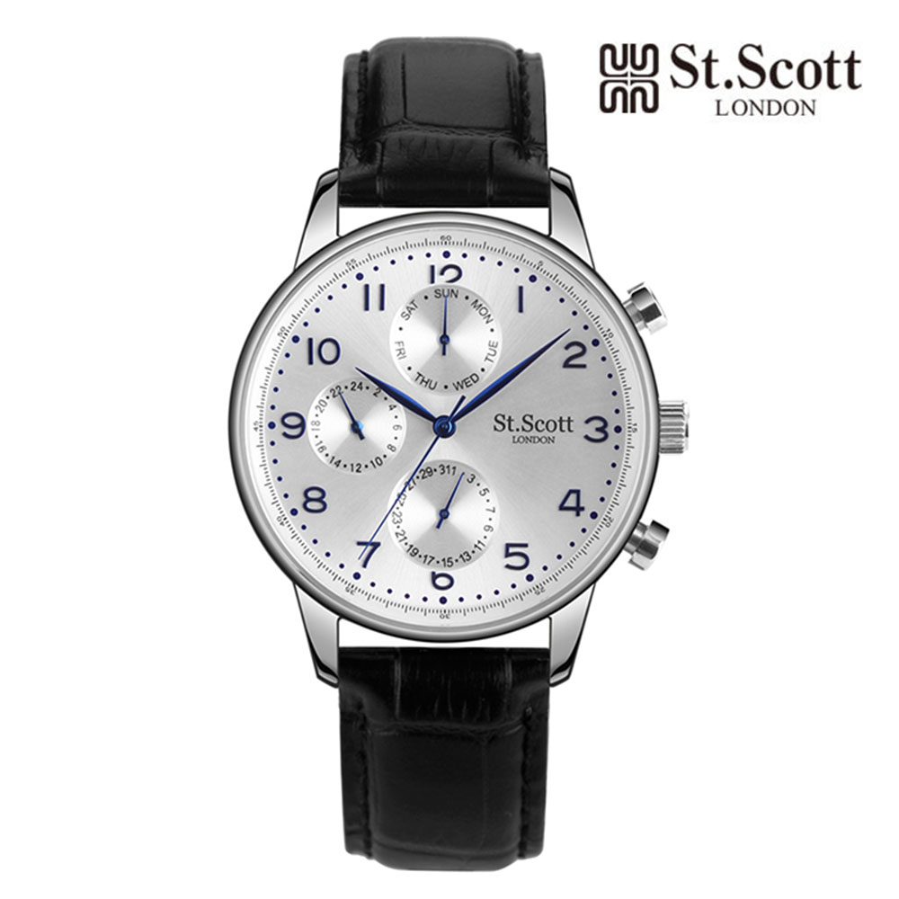 [St.Soott]세인트스코트 남성시계 ST5102L-SSB