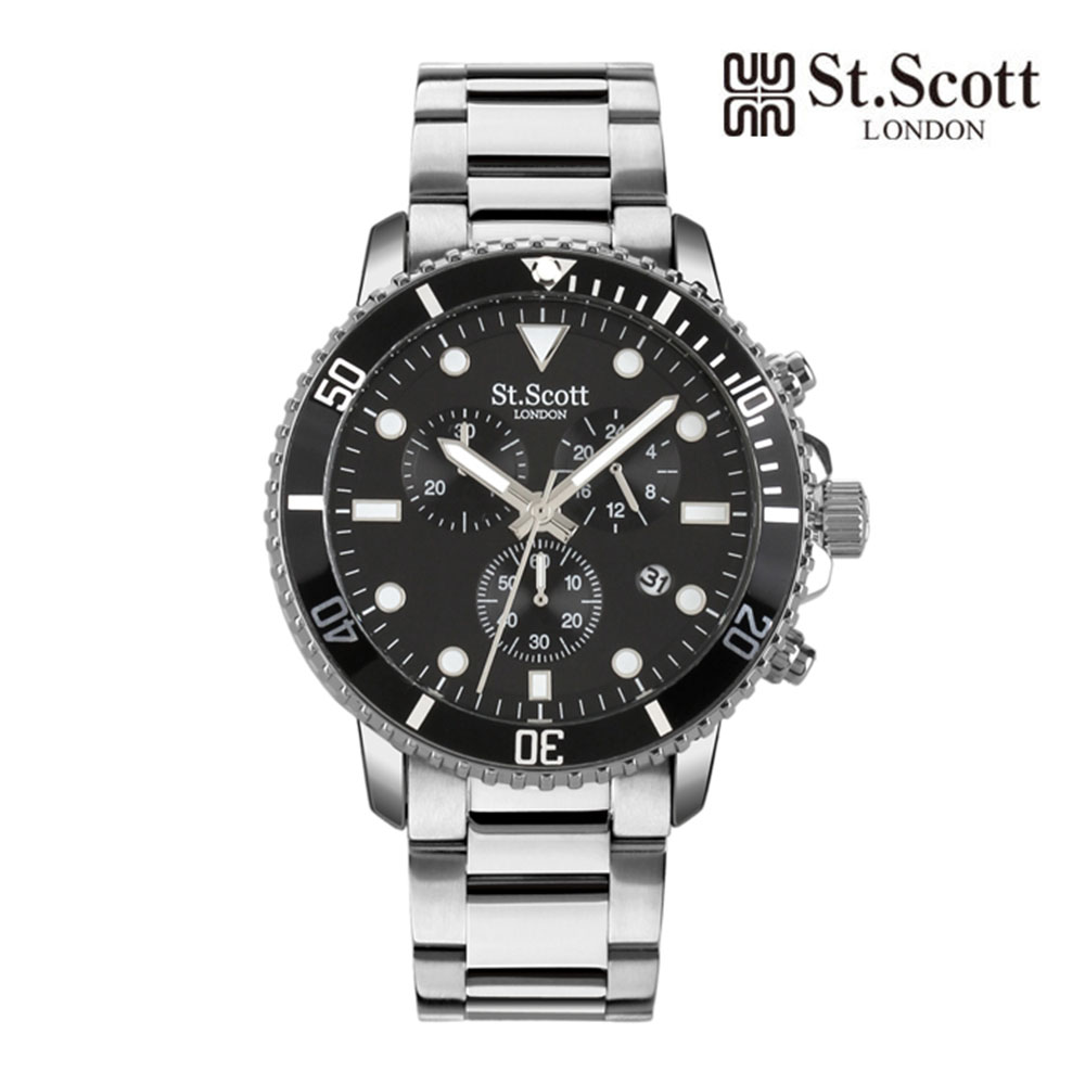 [St.Soott]세인트스코트 남성시계 ST5104BBS