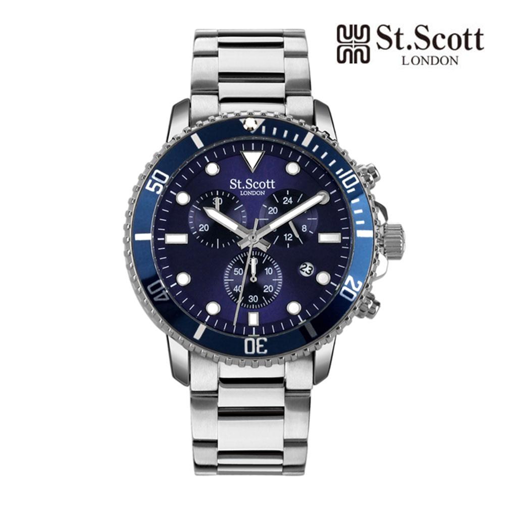 [St.Soott]세인트스코트 남성시계 ST5104LLS