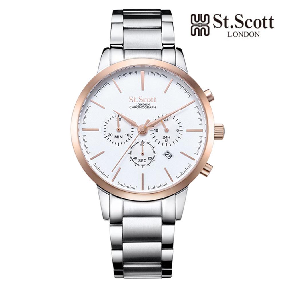 [St.Soott]세인트스코트 남성시계 ST7101RSS