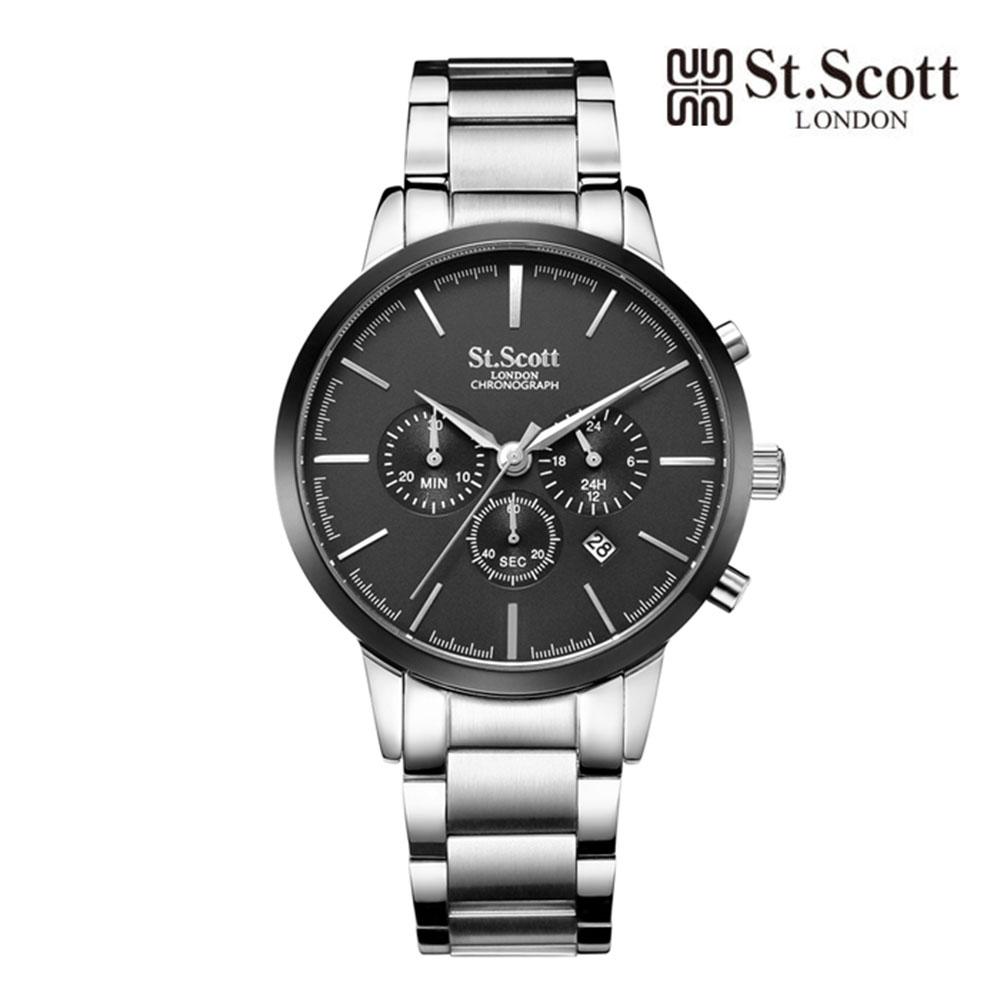 [St.Soott]세인트스코트 남성시계 ST7101SBS