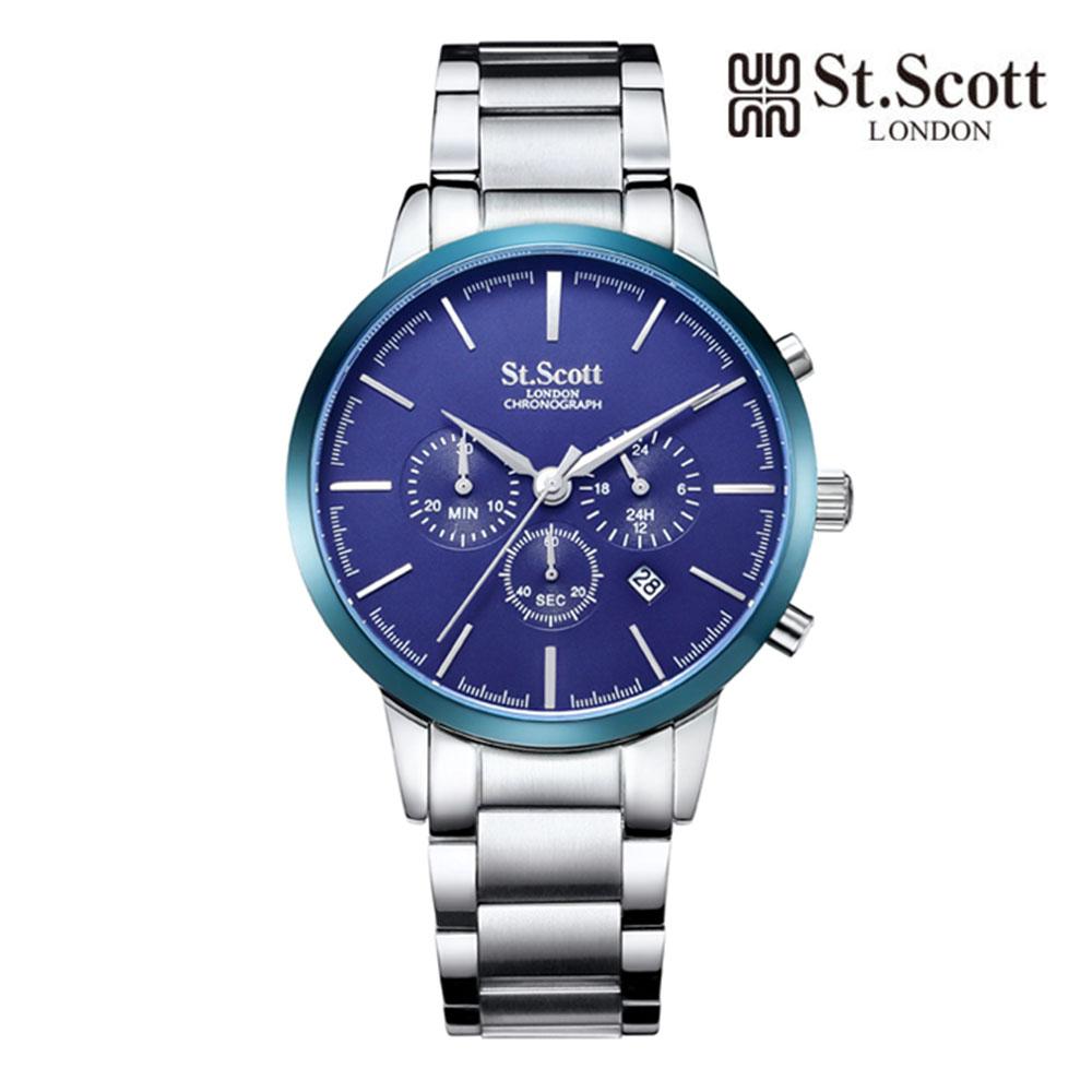 [St.Soott]세인트스코트 남성시계 ST7101SLS