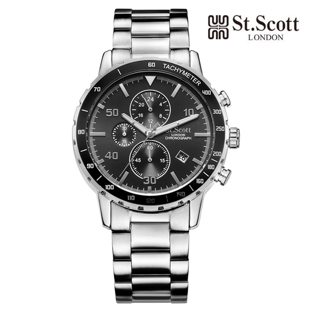 [St.Soott]세인트스코트 남성시계 ST7102SBS