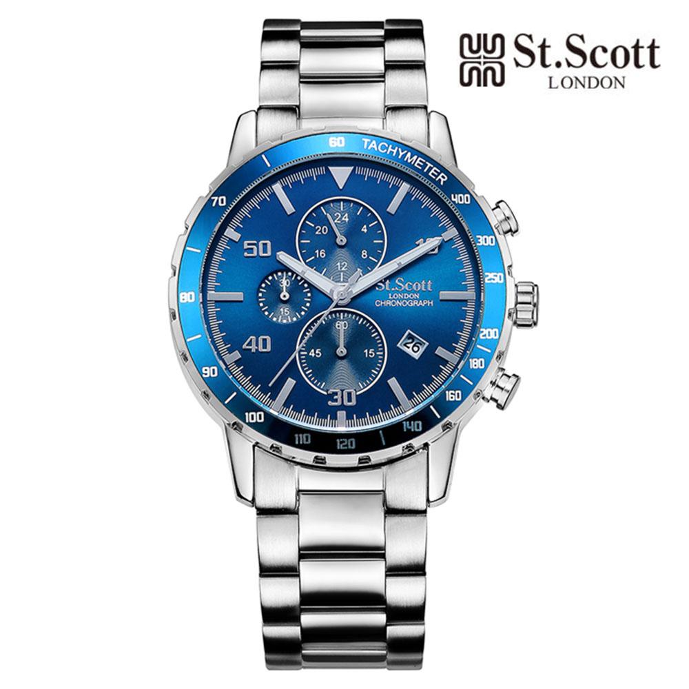 [St.Soott]세인트스코트 남성시계 ST7102SLS