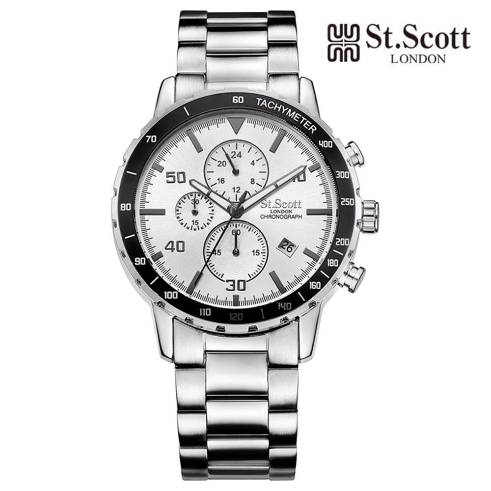 [St.Soott]세인트스코트 남성시계 ST7102SSS
