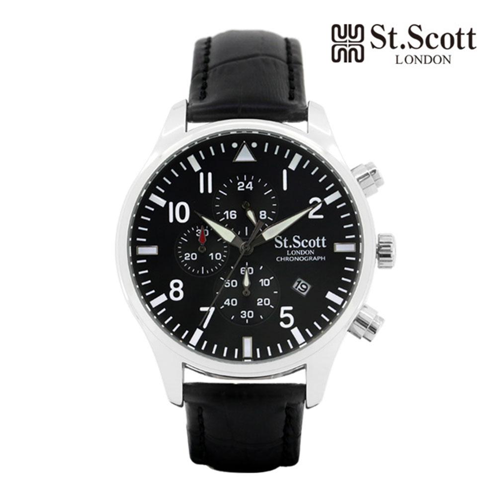 [St.Soott]세인트스코트 남성시계 ST3052L-SBB