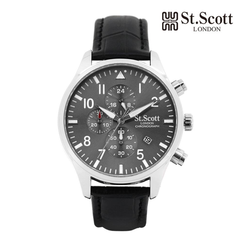[St.Soott]세인트스코트 남성시계 ST3052L-SGB
