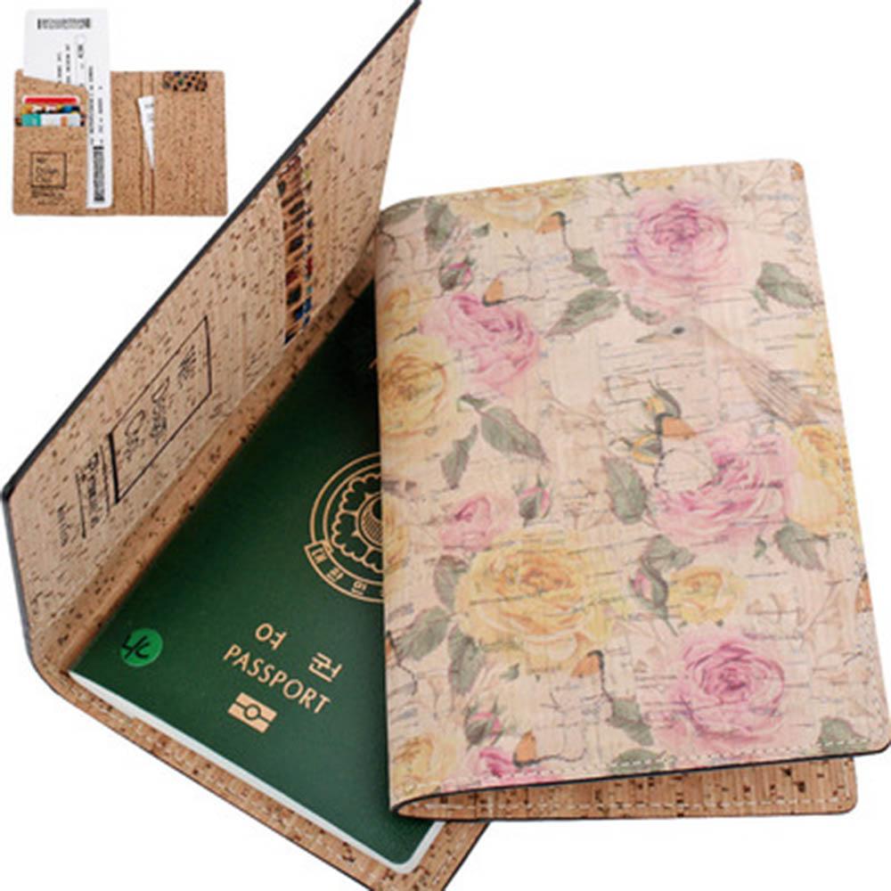 이태리 CORK 여권지갑 케이스 [나무가죽] C190117