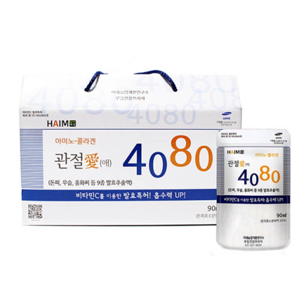 아미노-콜라겐 관절애 4080 90ml 30포