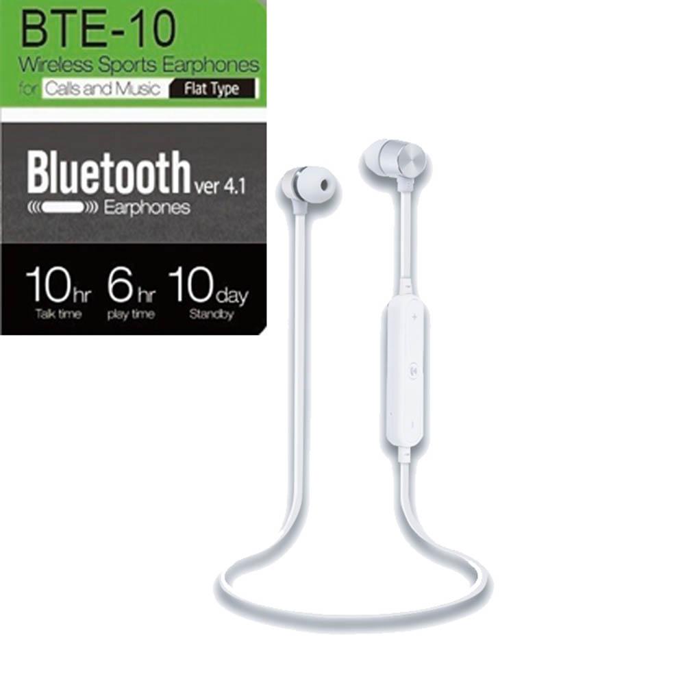 스마텍 와이어 블루투스 이어폰 BTE-10