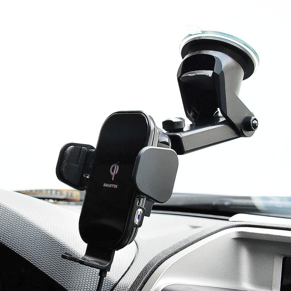 스마텍 FOD방식 차량용 무선충전 거치대 ST-CD900