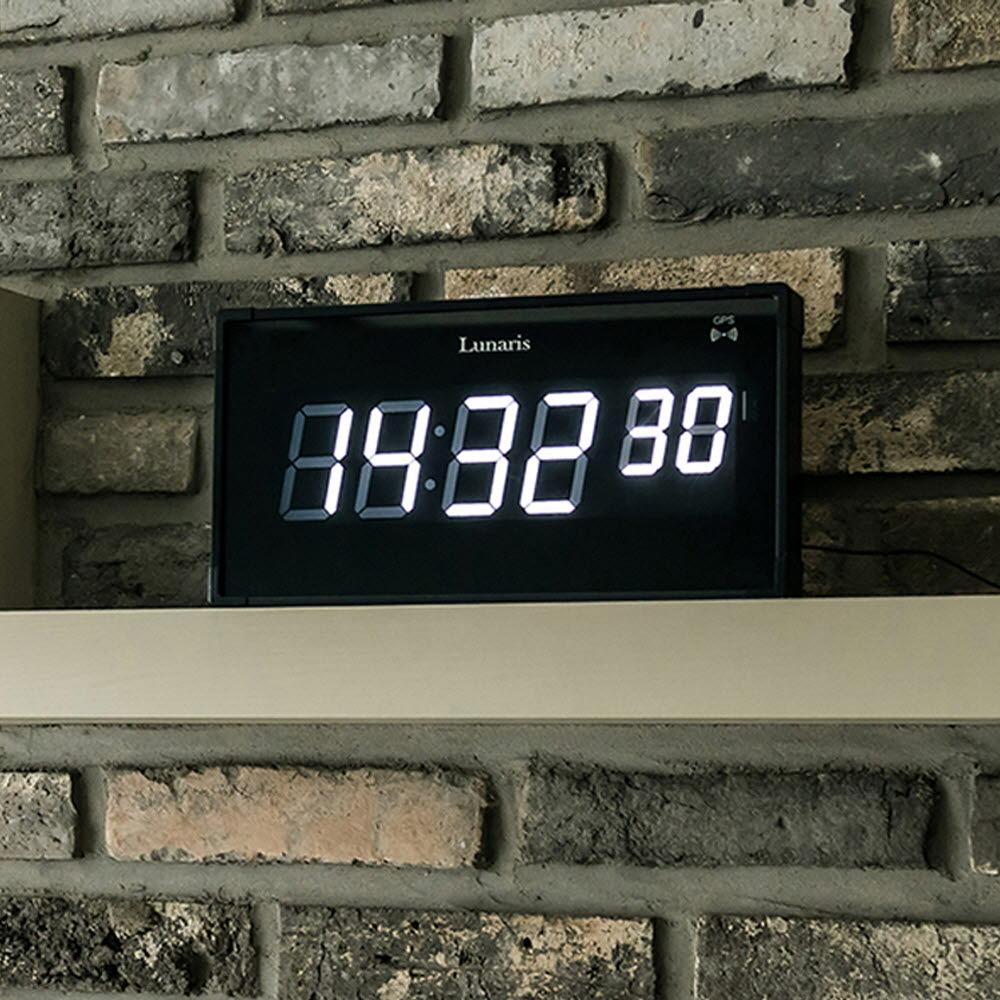국산 루나리스 GPS수신 해비치 LED 전자벽시계