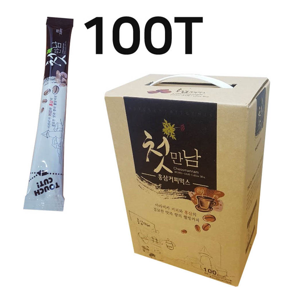 첫만남 홍삼 커피믹스