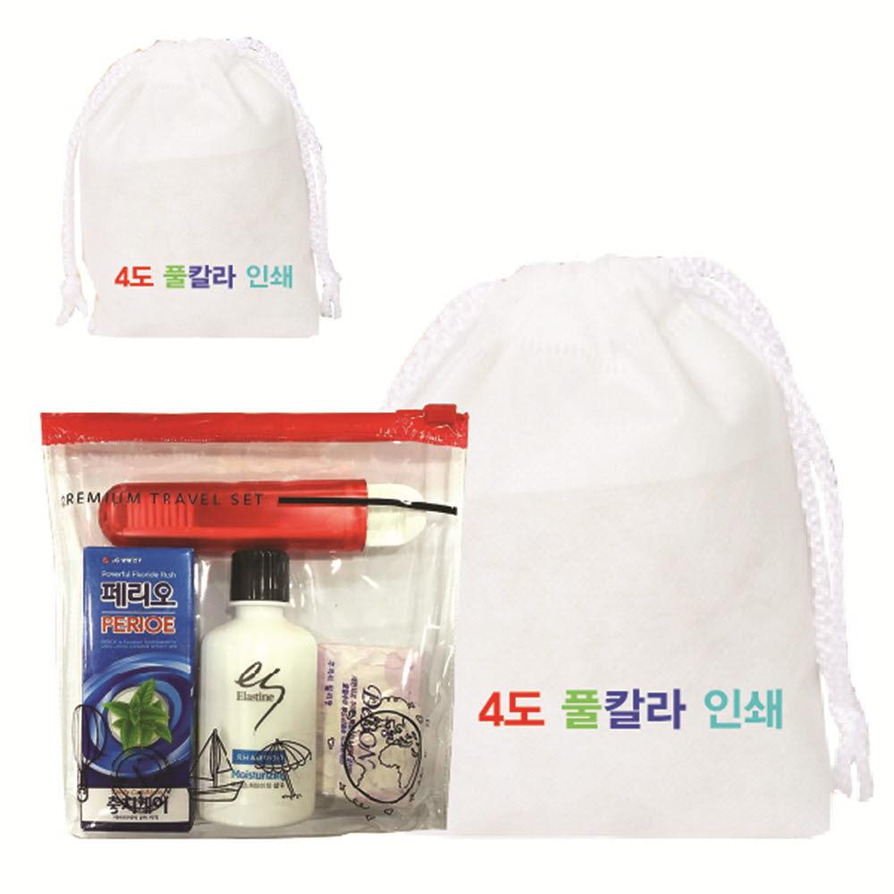 LG생활건강 (부직포가방) 여행용 4종세트 2호