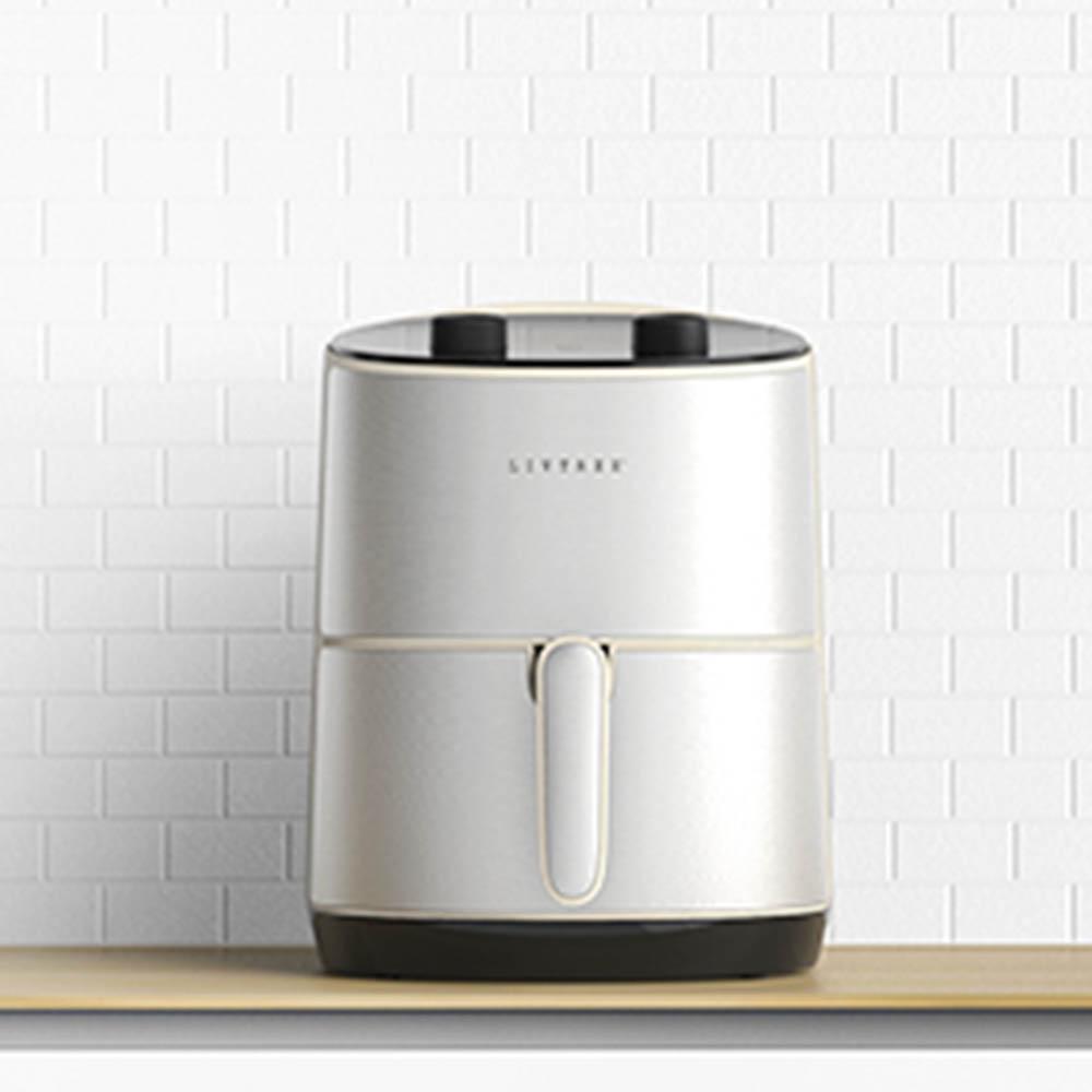 LIVETREE Krispy 3.5L 에어프라이어 LT-00101_화이트