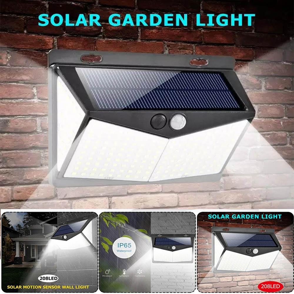 LED 태양광 센서등 정원등 벽등 조명등 208구 XF2028