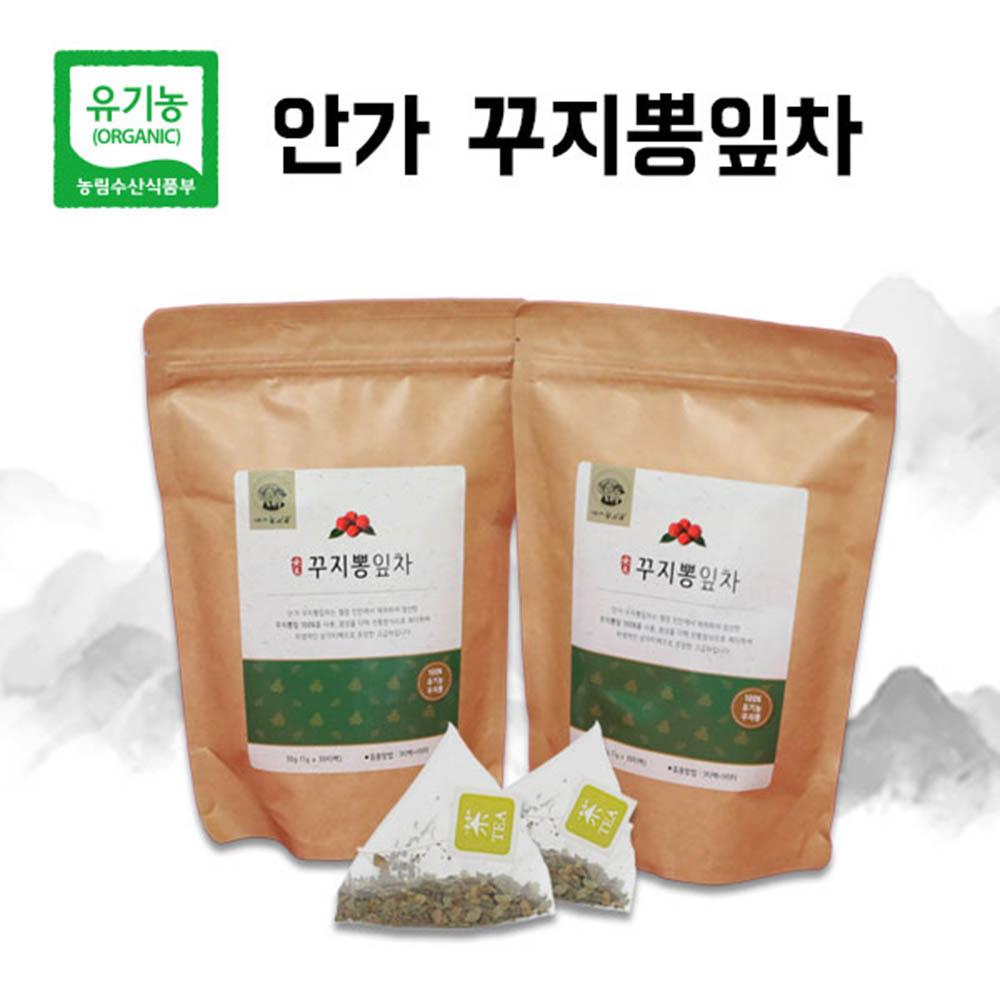 안지인 꾸찌뽕 잎차 1g x 30티백