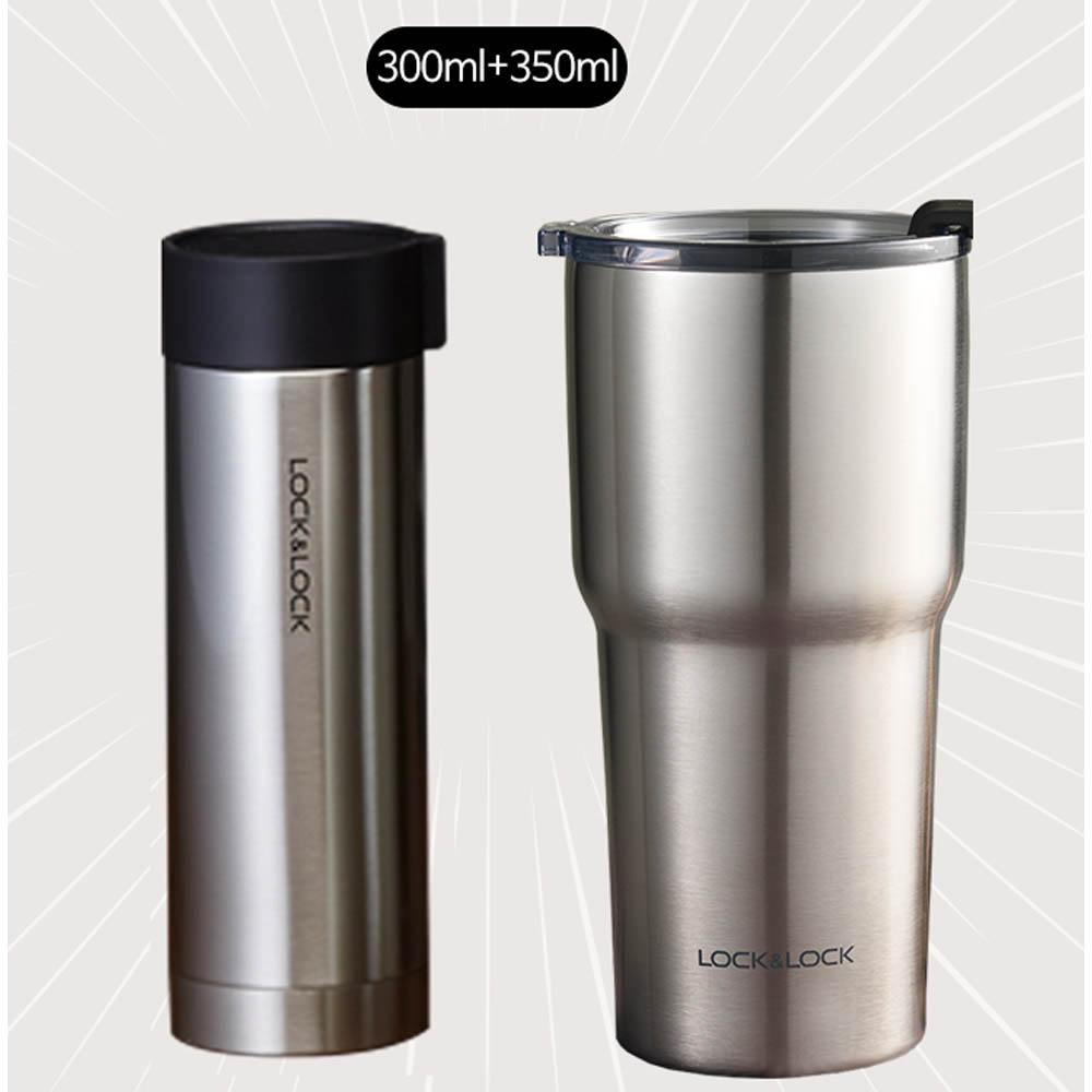 락앤락 커피한잔 패션,스윙 텀블러 세트(300ml,350ml)