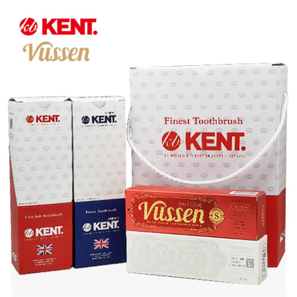 켄트&뷰센 온가족 칫솔치약 14p세트 - skv01 (클래식칫솔 6p+컴팩트 칫솔 6p + 뷰센 치약 2p)