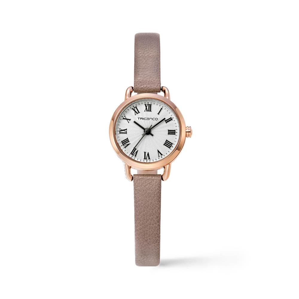 트리젠코 시계 TG-0503L-RWH/BE 가죽