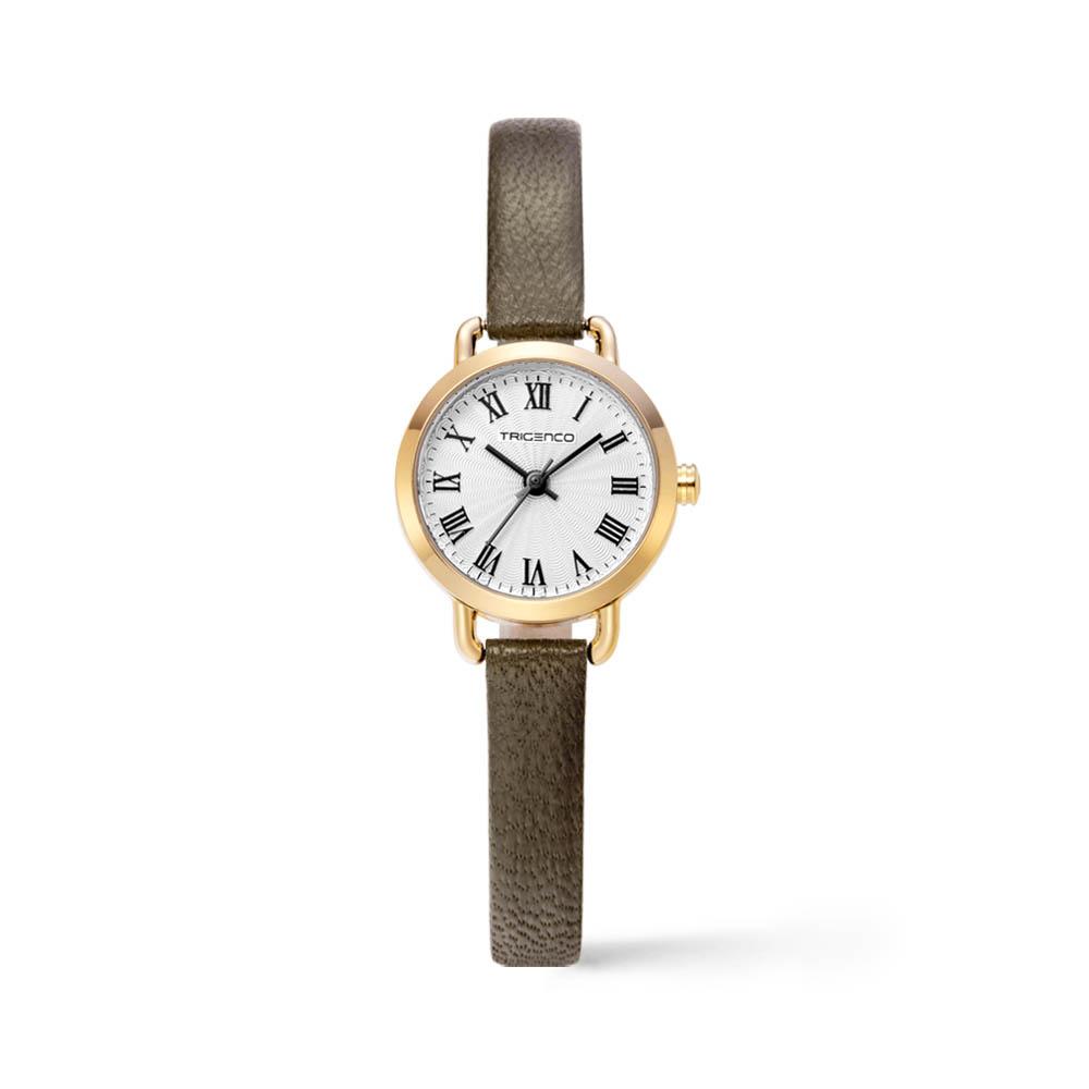 트리젠코 시계 TG-0503L-GWH/KH 가죽