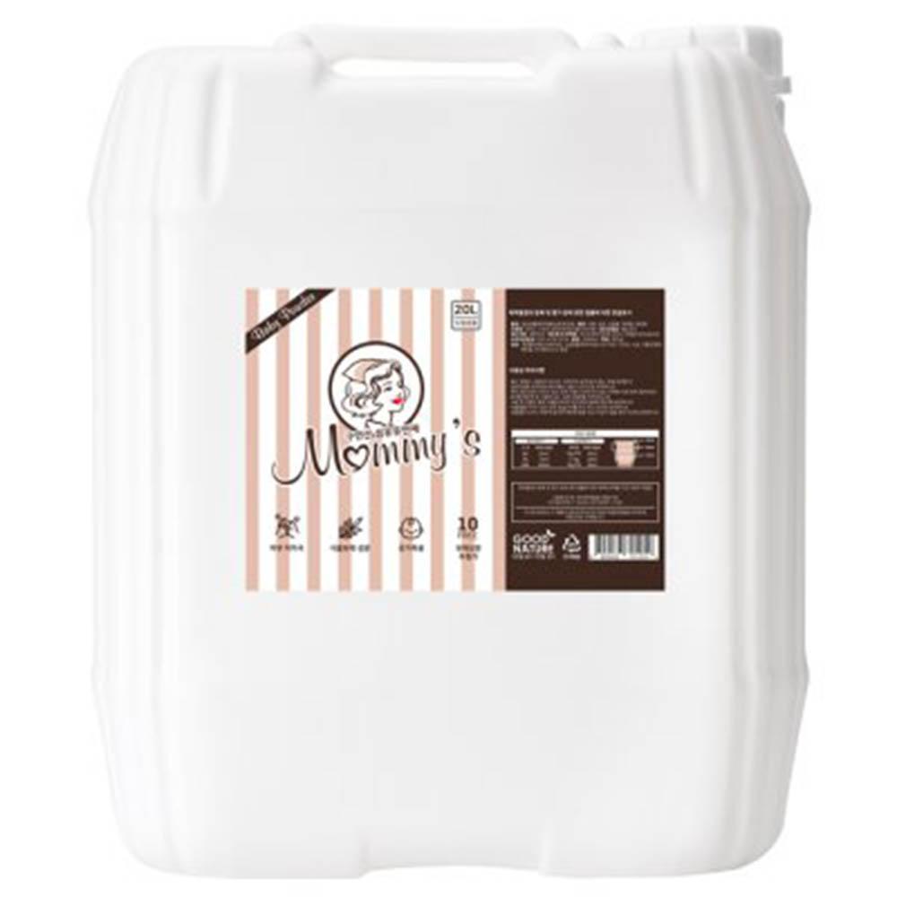 마미스 구연산 베이비파우더향 대용량 섬유유연제 20L