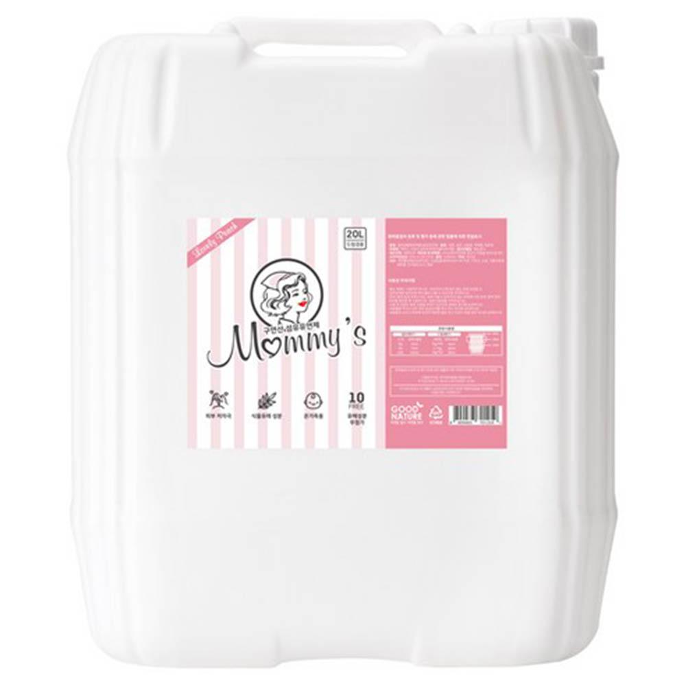 마미스 구연산 러블리피치향 대용량 섬유유연제 20L