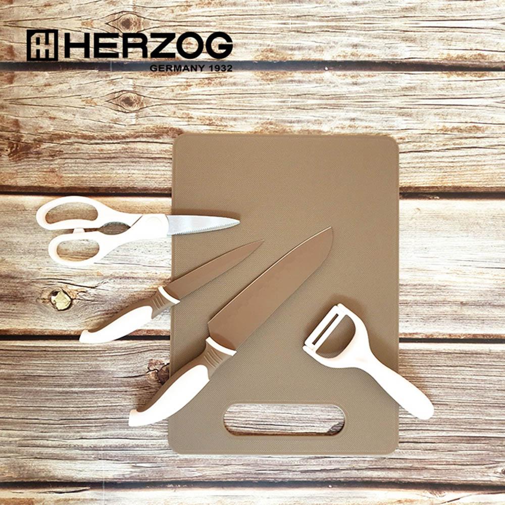 헤르조그 칼,도마 5종세트 MCHZ-EM008
