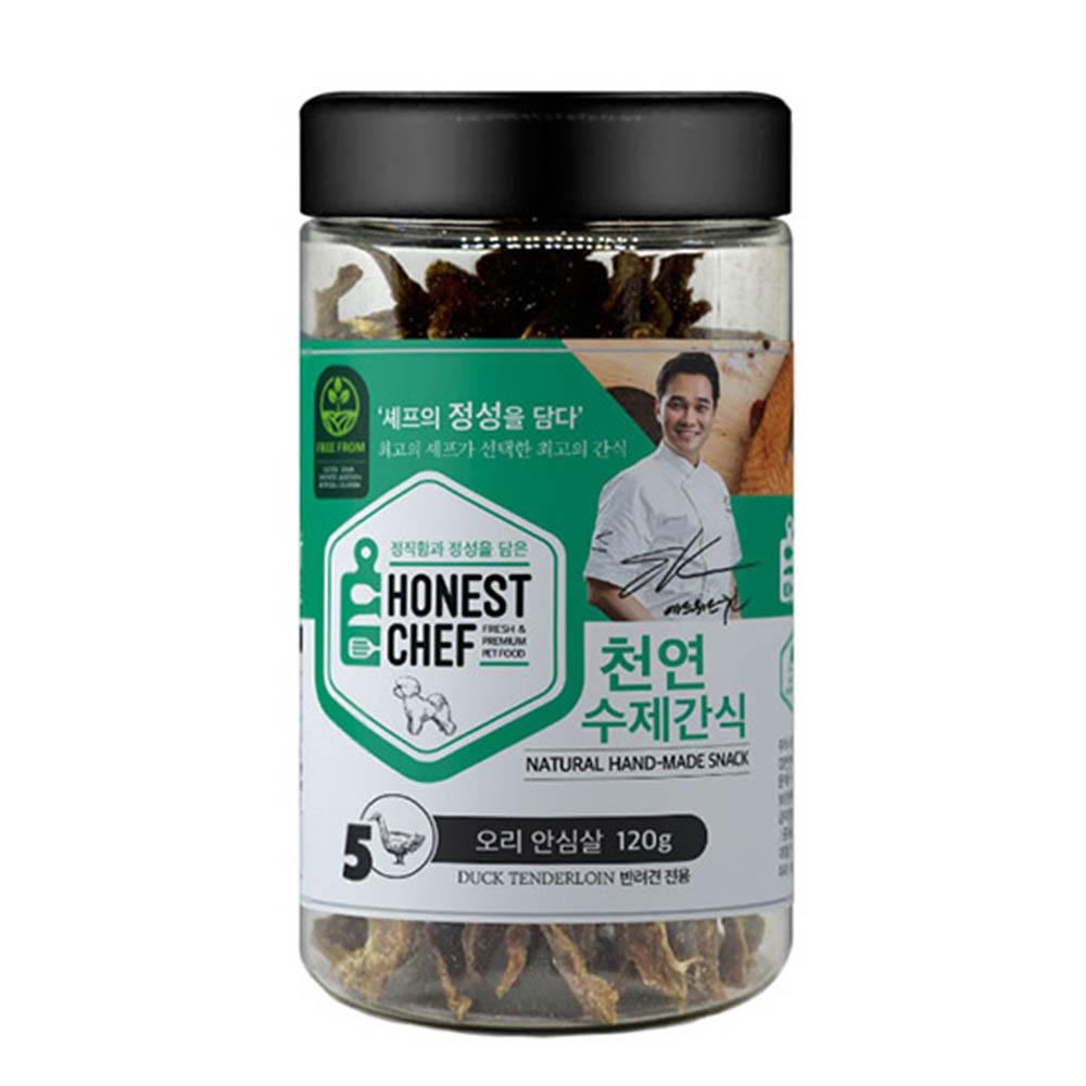 에드워드권 수제 천연간식 오리 안심살 120g