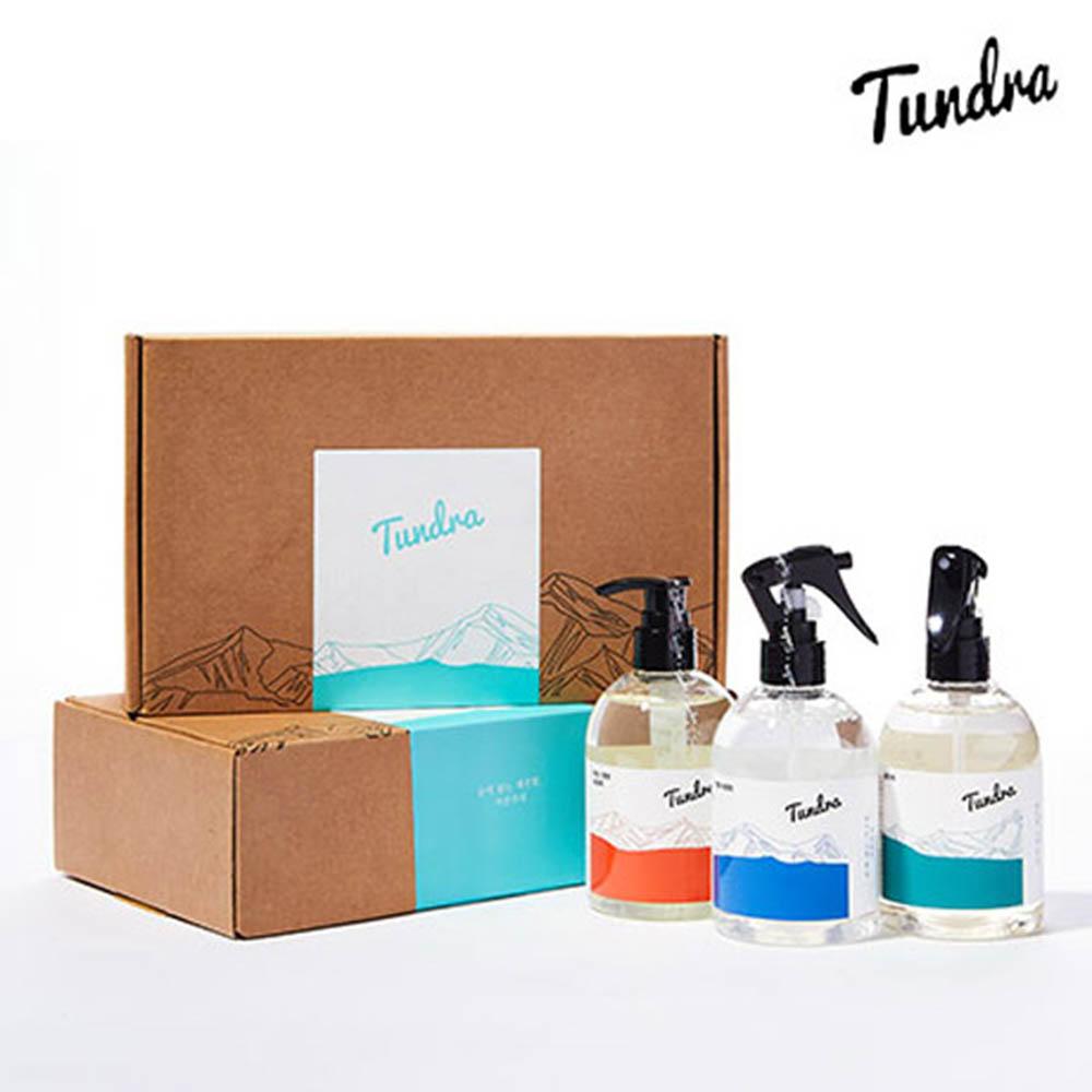 [툰드라] 식품첨가물 천연성분 친환경 착한세정제 종합선물세트(주방젖병세제+탈취제+툰드라세정제)
